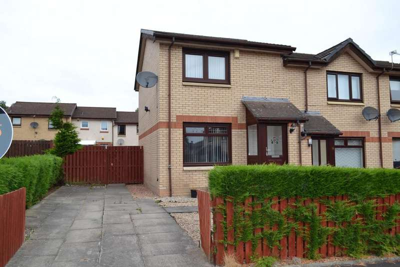 2 Bedrooms End Of Terrace House for sale in HOLMES QUADRANT, BELLSHILL ML4