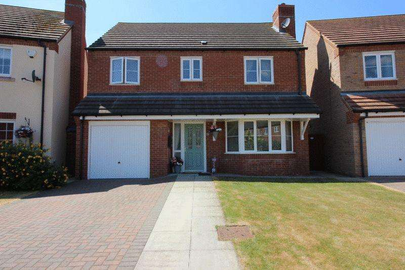 4 Bedrooms Detached House for sale in Morris Close, Whittlesey, PE7
