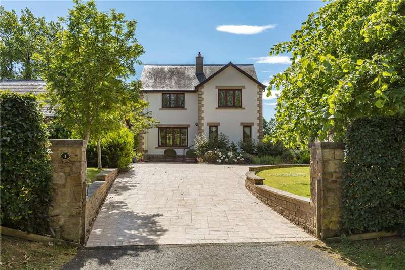4 Bedrooms Detached House for sale in Netherraw, Lilliesleaf, Melrose, Scottish Borders