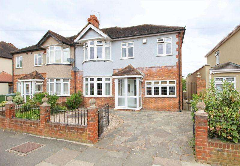 4 Bedrooms Semi Detached House for sale in Charldane Road, New Eltham, SE9 3PF