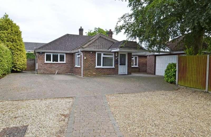4 Bedrooms Detached Bungalow for sale in Taverham, Norwich, Norfolk
