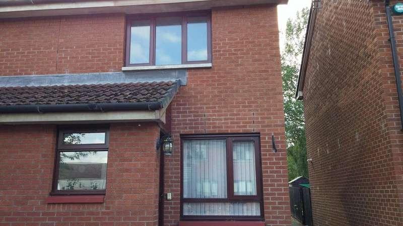 2 Bedrooms Semi Detached House for sale in Jardington Court , Newbridge Drive, Dumfries DG2