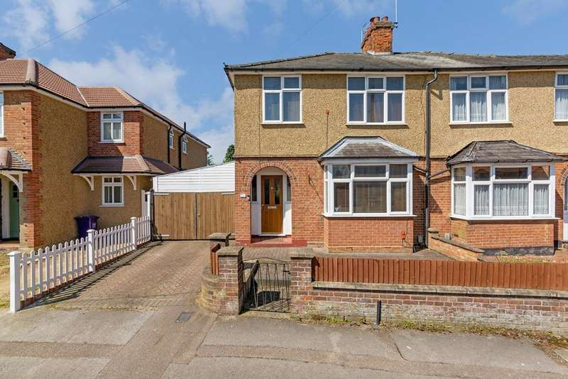 3 Bedrooms Semi Detached House for sale in Brampton Park Road, Hitchin, SG5