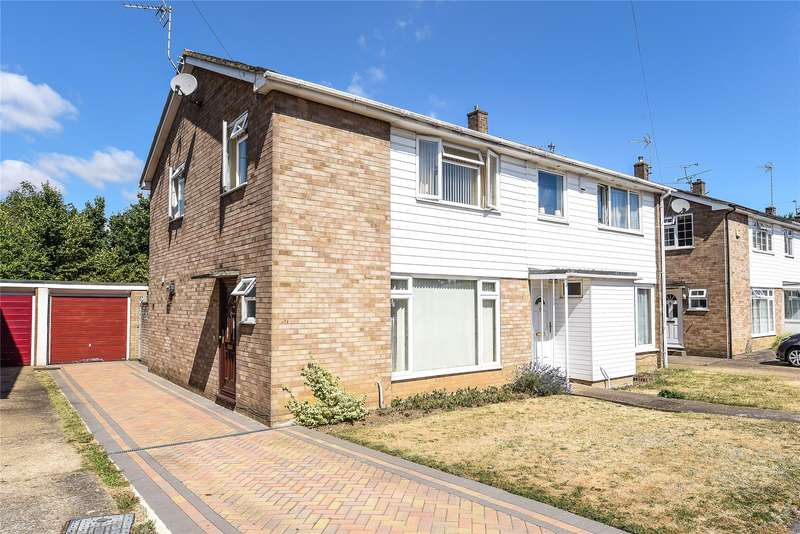 3 Bedrooms Semi Detached House for sale in Edenham Crescent, Reading, Berkshire, RG1
