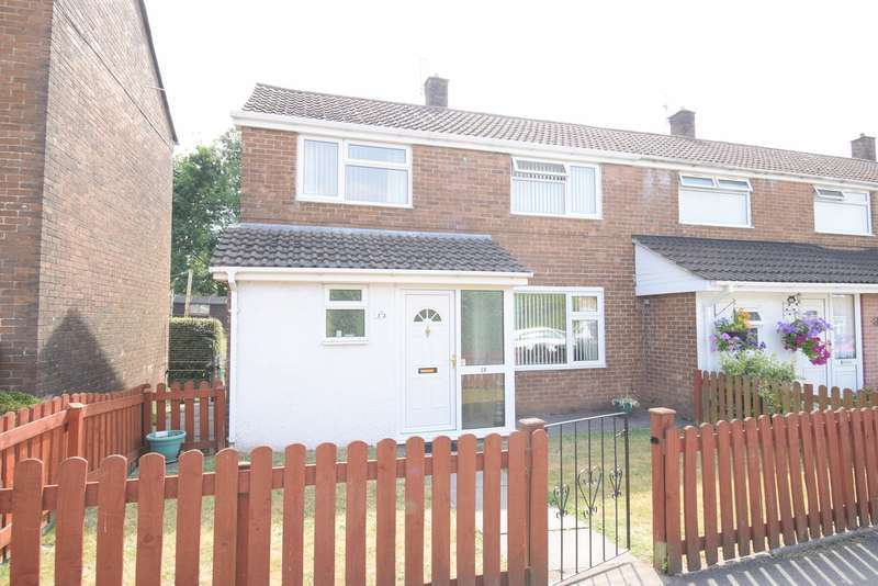 2 Bedrooms End Of Terrace House for sale in Green Willows, Oakfield, Cwmbran, NP44
