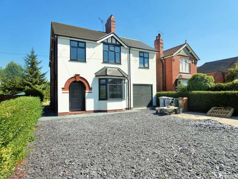 4 Bedrooms Detached House for sale in Crewe Road, Sandbach, Cheshire, CW11