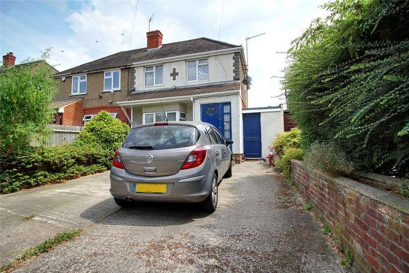2 Bedrooms Semi Detached House for sale in Basingstoke Road, Reading, Berkshire, RG2
