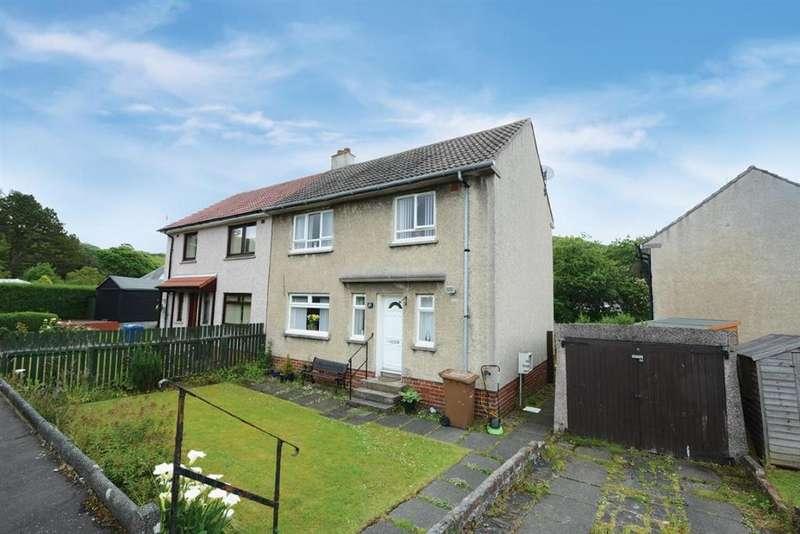 3 Bedrooms Semi Detached House for sale in 27 Kirkton Avenue, West Kilbride, KA23 9DY