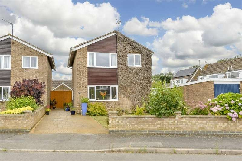 3 Bedrooms Detached House for sale in Oslo Gardens, Corby, Northamptonshire