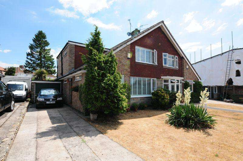 2 Bedrooms Semi Detached House for sale in Long Eaton Drive, Whitchurch, Bristol, BS14
