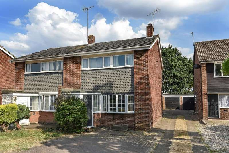 3 Bedrooms Semi Detached House for sale in Hudson Road, Reading, RG5