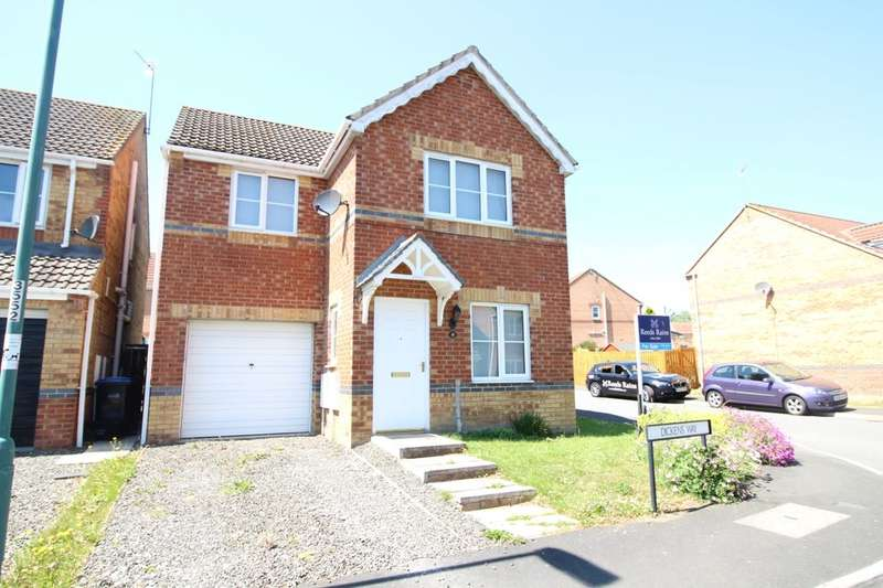 3 Bedrooms Detached House for sale in Dickens Way, Crook, DL15