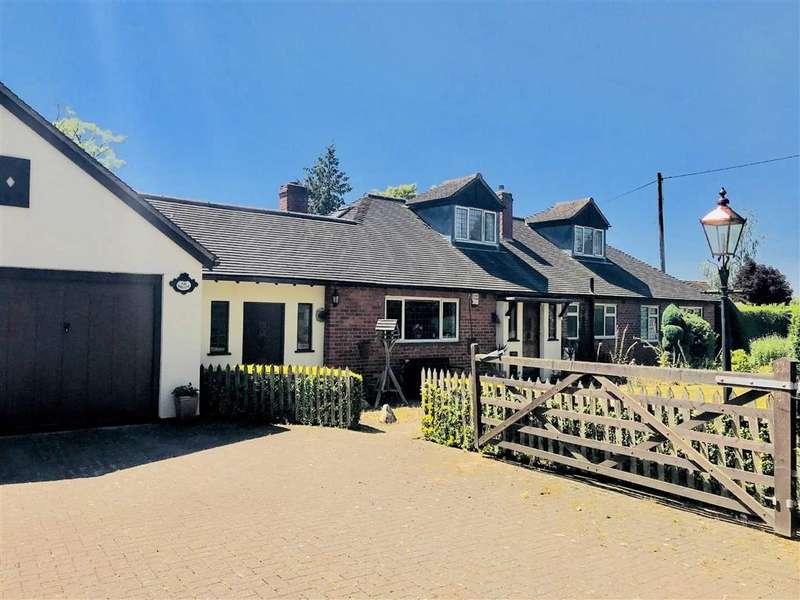 4 Bedrooms Detached Bungalow for sale in Stanley Lane, Shrewsbury