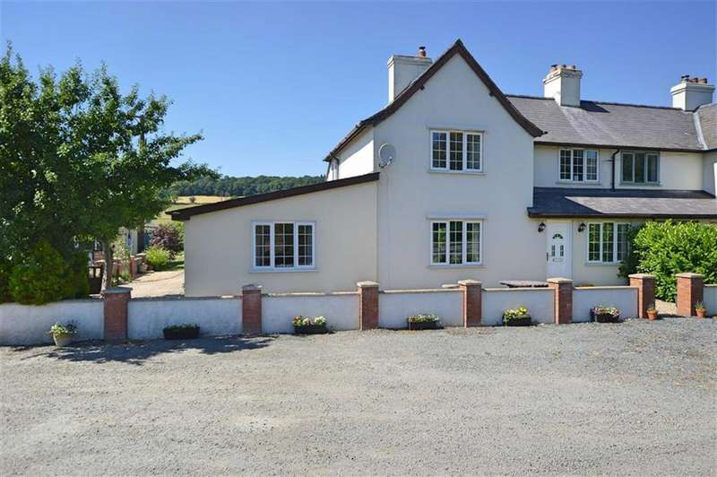 3 Bedrooms Semi Detached House for sale in Tanyffordd, Abermule, Montgomery, Powys, SY15