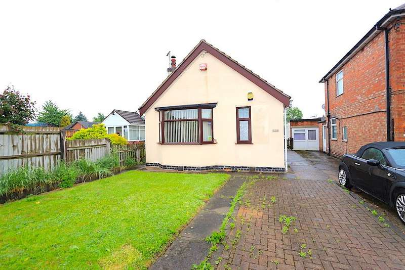 1 Bedroom Bungalow for sale in Holmfield Avenue West, Leicester Fore...