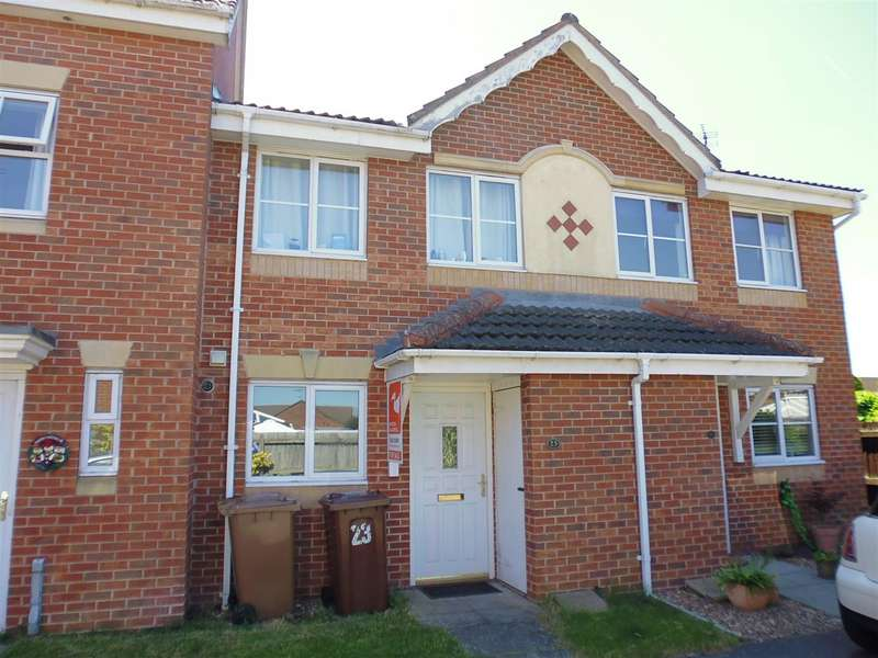 2 Bedrooms Terraced House for sale in Rockingham Close, Lincoln
