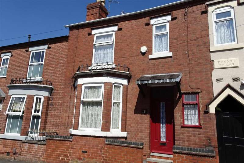 3 Bedrooms Terraced House for sale in Burns Street, Ilkeston