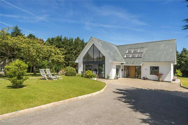 4 Bedrooms Detached House for sale in Harcourt Lane, Feock, Truro, Cornwall, TR3