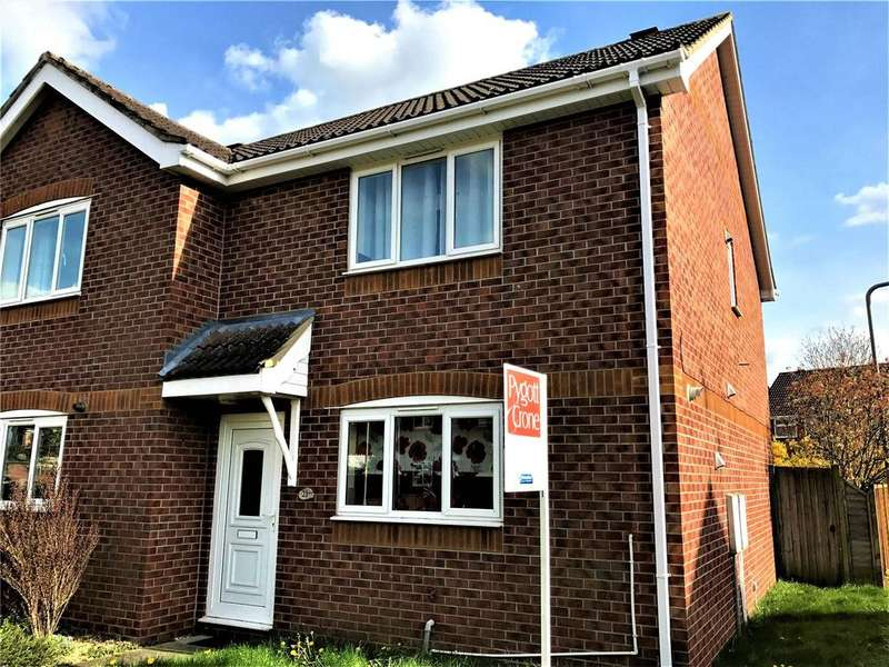 2 Bedrooms Semi Detached House for sale in Meadowbrook, Ruskington, NG34