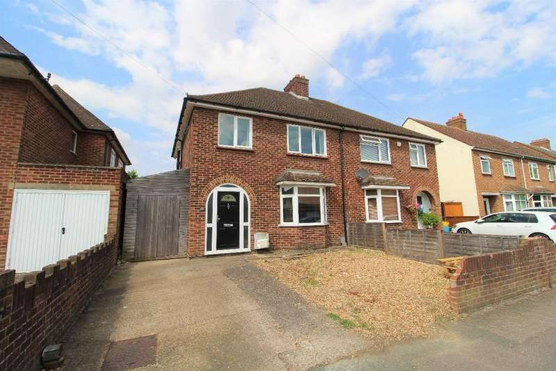 3 Bedrooms Semi Detached House for sale in Chantry Road, Kempston MK42