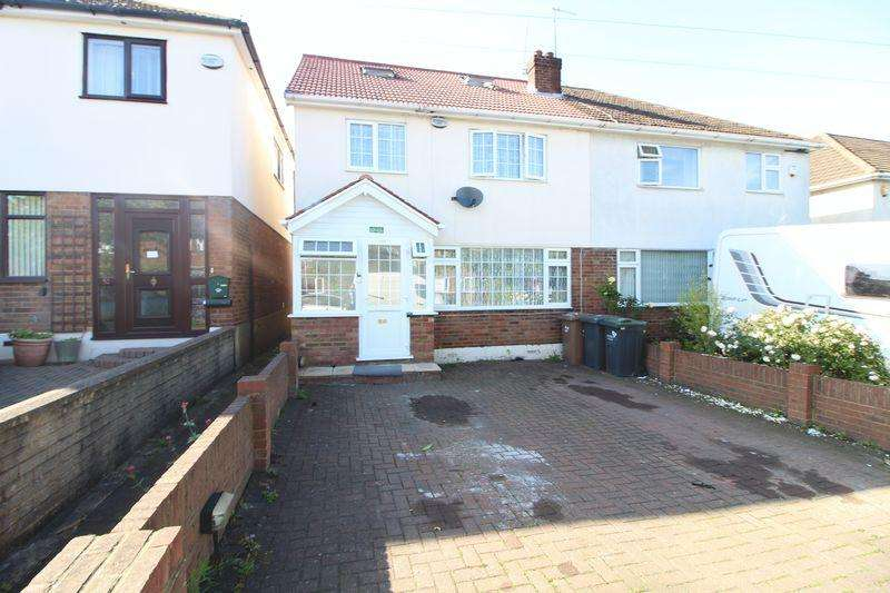 4 Bedrooms Semi Detached House for sale in Heavily Extended Family Home on Stoneygate Road, Luton