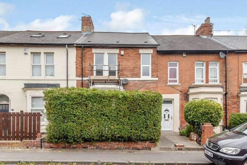 4 Bedrooms Terraced House for sale in Meldon Terrace, Heaton, Newcastle Upon Tyne, Tyne Wear