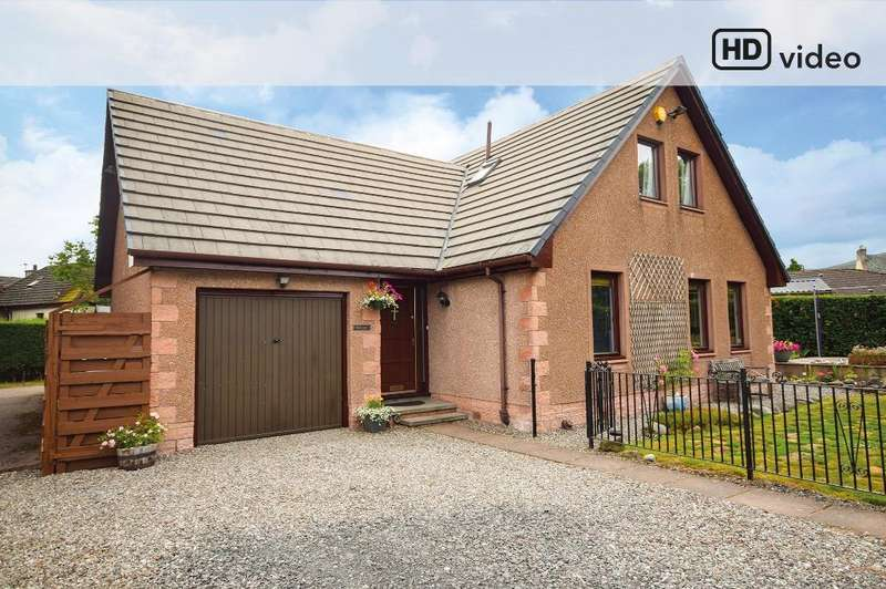 4 Bedrooms Detached House for sale in Moray Street, Blackford, Perthshire, PH4 1QF