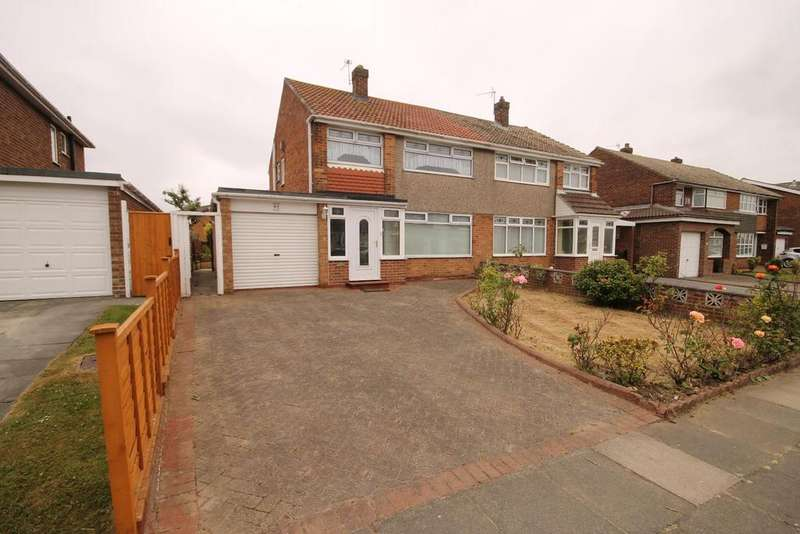 3 Bedrooms Semi Detached House for sale in Mowbray Road, Fens, Hartlepool