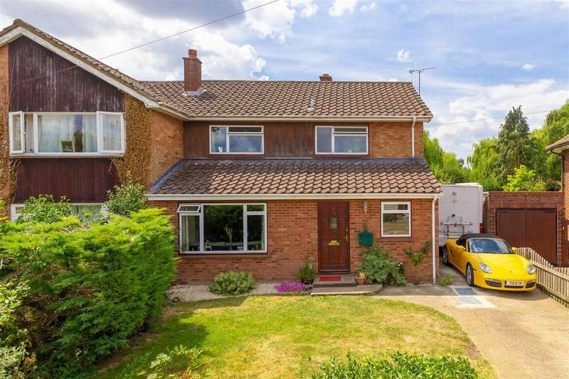 3 Bedrooms Semi Detached House for sale in Lordship Lane, Letchworth Garden City