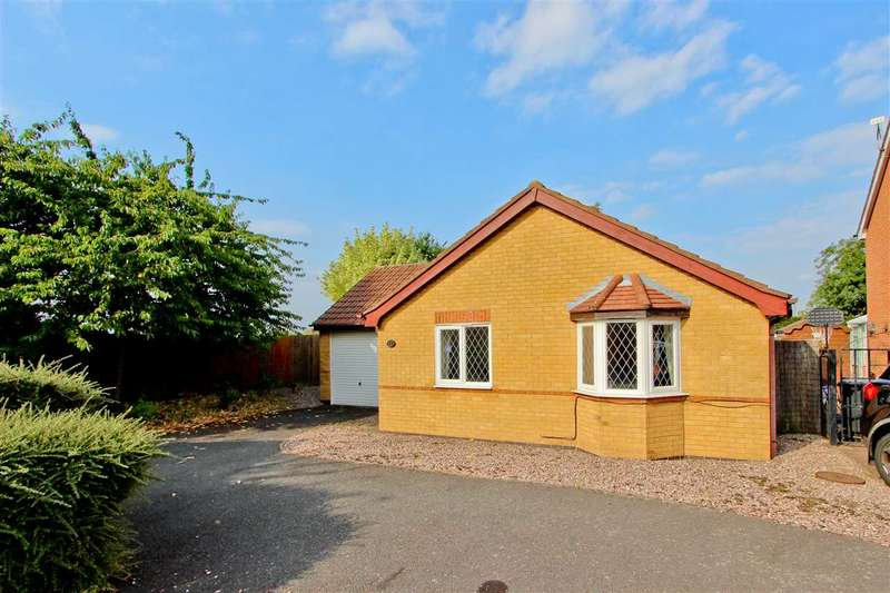 2 Bedrooms Bungalow for sale in Lilac Close, Loughborough