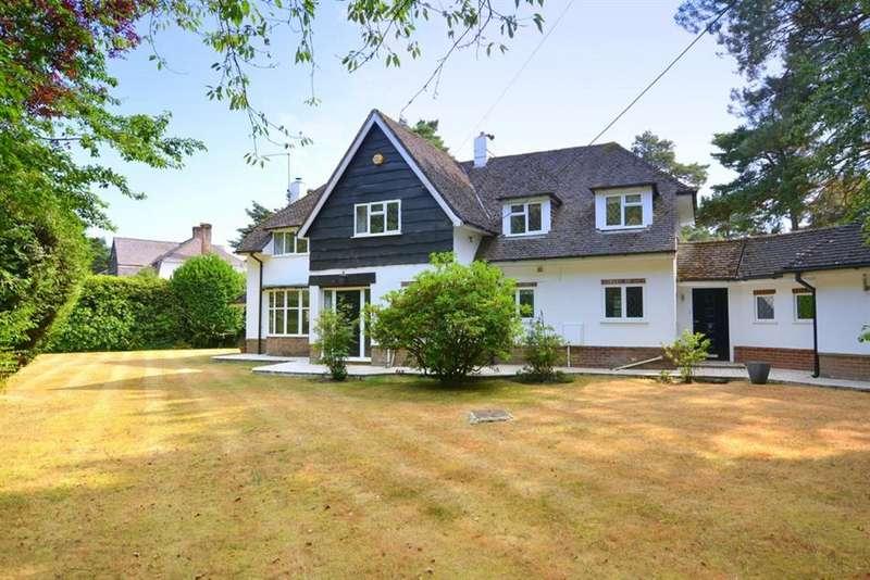 4 Bedrooms Detached House for sale in Beaufoys Avenue, Ferndown