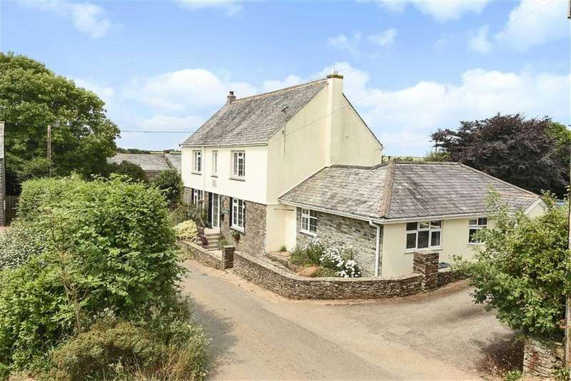 5 Bedrooms Detached House for sale in Longstone, St Mabyn, Bodmin, Cornwall, PL30