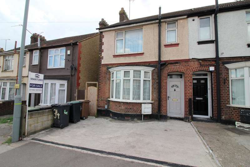 2 Bedrooms End Of Terrace House for sale in Kingsway, Luton, Bedfordshire, LU4 8EH
