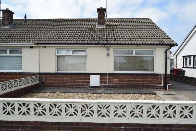 2 Bedrooms Semi Detached Bungalow for sale in Combe View, Walney, LA14 3TA