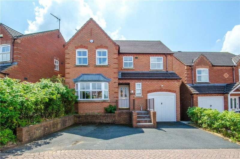 4 Bedrooms Detached House for sale in Grosmont Avenue, Worcester, Worcestershire, WR4