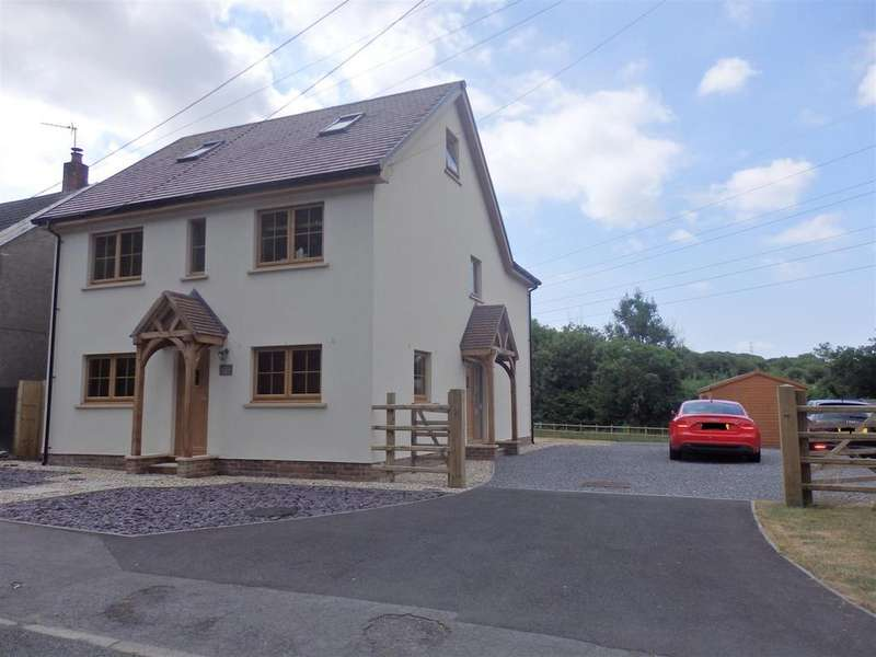 4 Bedrooms Detached House for sale in Heol Morlais, Trimsaran, Kidwelly