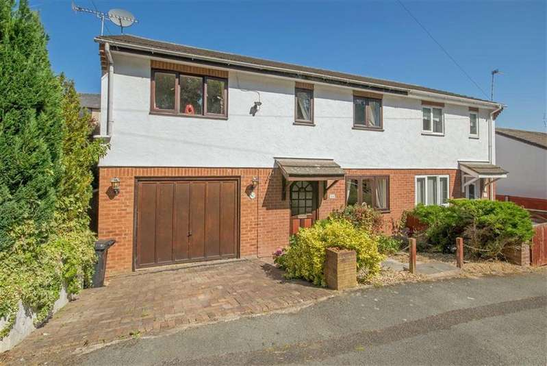 3 Bedrooms Semi Detached House for sale in Nant Y Glyn, Bagillt, Holywell