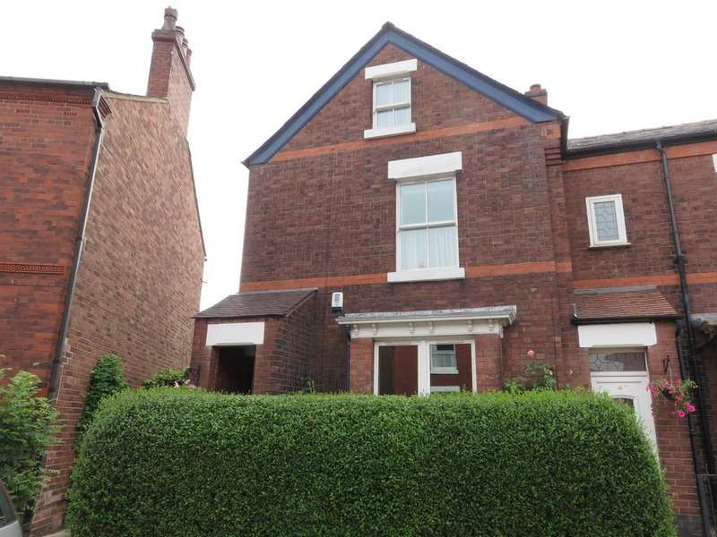 4 Bedrooms Semi Detached House for sale in Pownall Street, Macclesfield