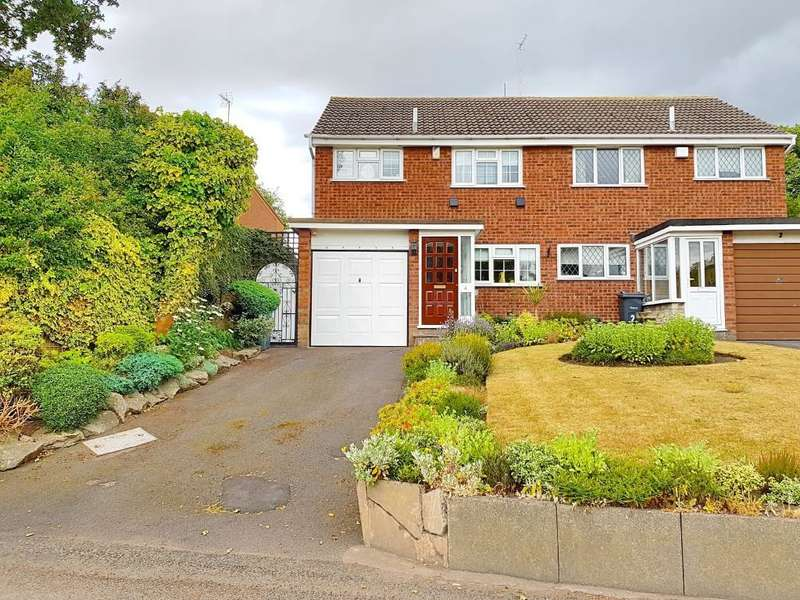 3 Bedrooms Semi Detached House for sale in WIGMORE LANE, WEST BROMWICH, WEST MIDLANDS, B71 3SU