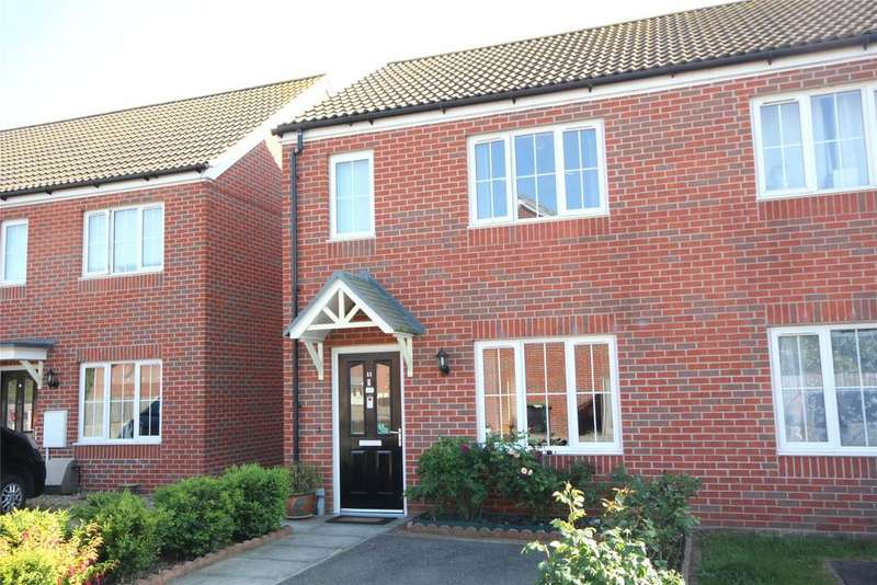 2 Bedrooms Semi Detached House for sale in Freeston Road, Heckington, NG34