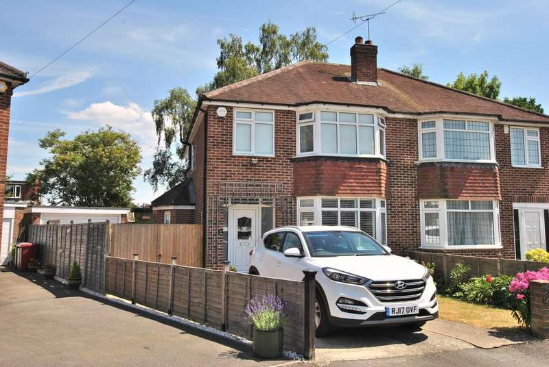 3 Bedrooms Semi Detached House for sale in Boundary Close, Tilehurst, Reading, RG31