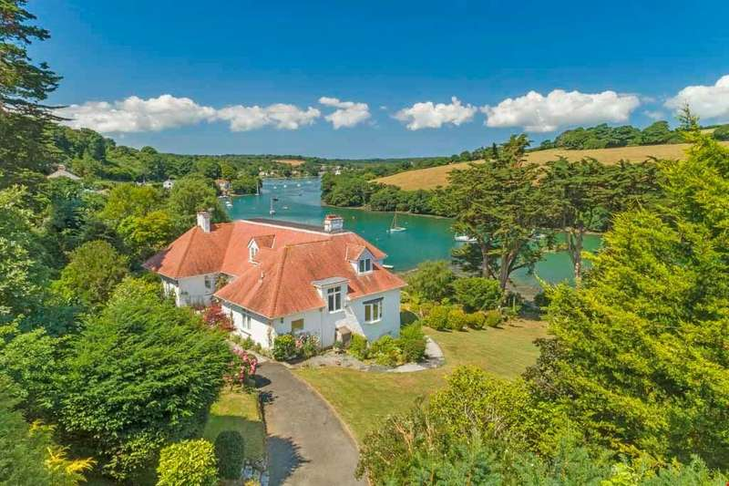 4 Bedrooms Detached House for sale in Mylor Churchtown, Nr. Falmouth, South Cornwall, TR11
