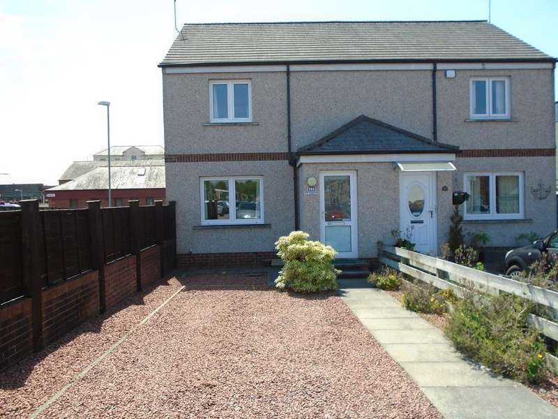 2 Bedrooms Semi Detached House for sale in Caledonian Place, Lockerbie DG11