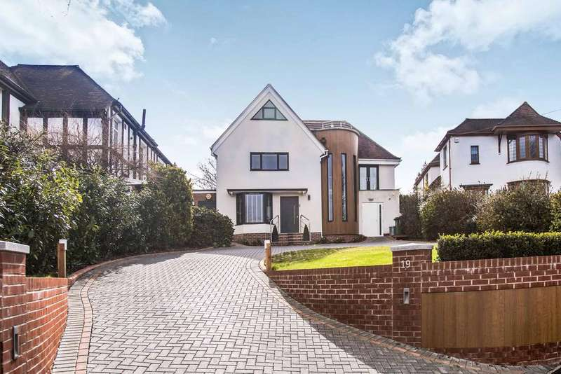 4 Bedrooms Detached House for sale in Hilltop Crescent, Portsdown Hill, Portsmouth PO6