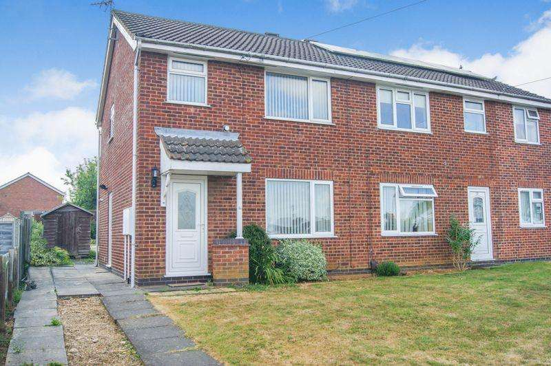 3 Bedrooms Semi Detached House for sale in Chelmsford Drive, Grantham