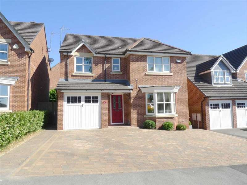 4 Bedrooms Detached House for sale in Gayton Road, Ilkeston, Derbyshire