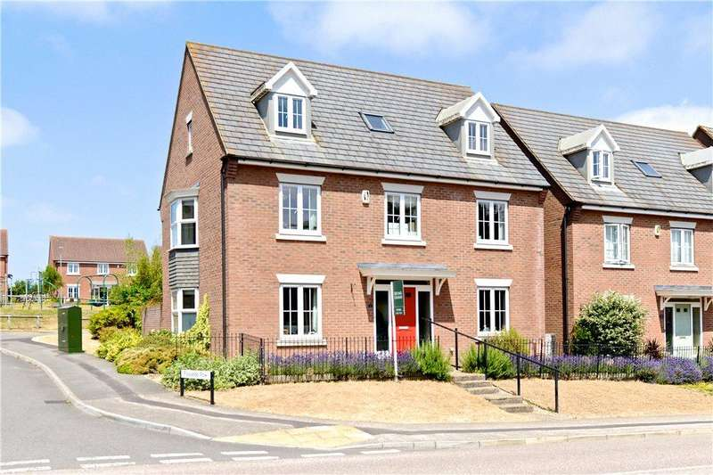 5 Bedrooms Detached House for sale in Flaxlands Row, Olney, Buckinghamshire