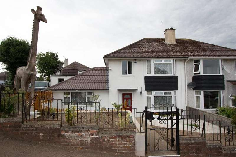 4 Bedrooms Semi Detached House for sale in Ernesettle, Plymouth