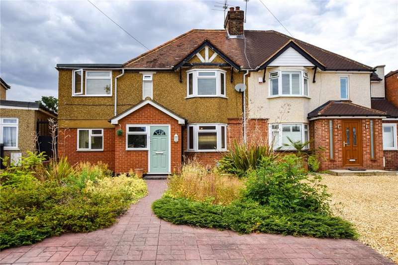 4 Bedrooms Semi Detached House for sale in Garston Crescent, Watford, Hertfordshire, WD25