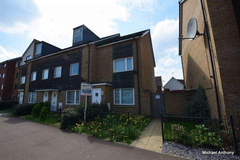 2 Bedrooms End Of Terrace House for sale in Newport Road, Broughton, Milton Keynes